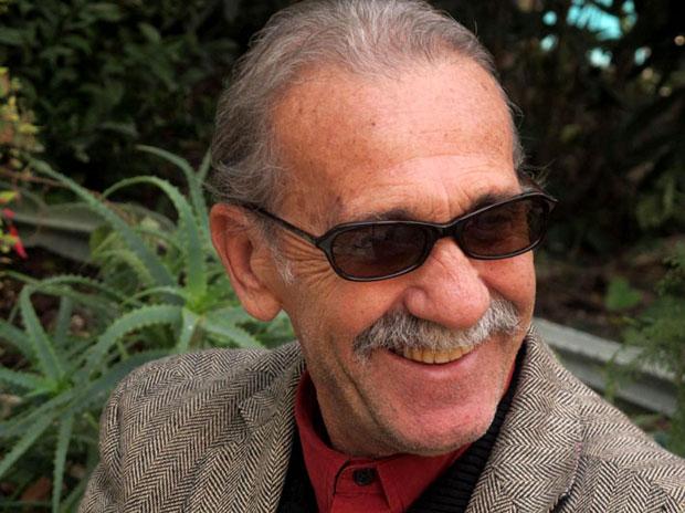 פורטרט של ראובן אברג'יל מהפנתרים השחורים, ירושלים
