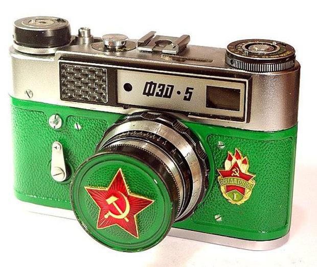 מצלמה-רוסית-ישנה-FED5