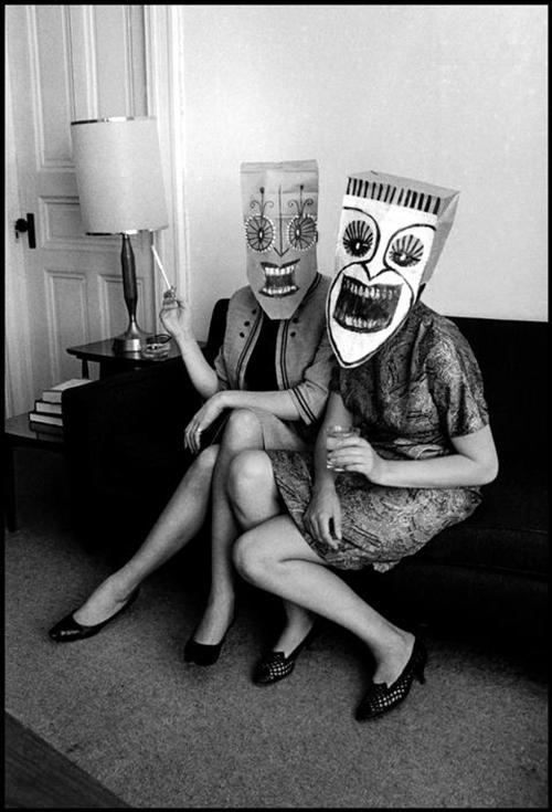 סול-סטיינבררג-ואינגה-מורת-מסכות-1962