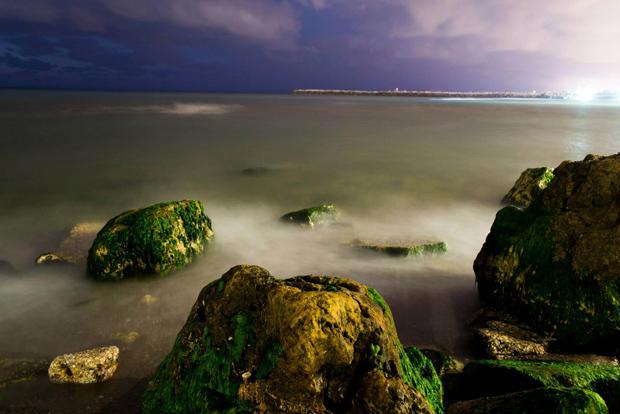 אורי גרינברג, צילום-לילה-בחשיפה-ארוכה