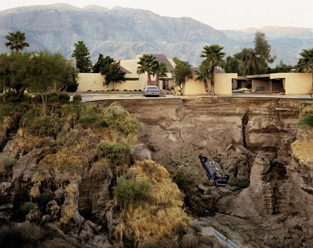 After-A-Flash-Flood,-Rancho-Mirage,-California-1979
