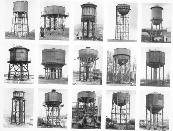 מגדלי מים, ברנרד והילה בכר,bernard & hilla becher