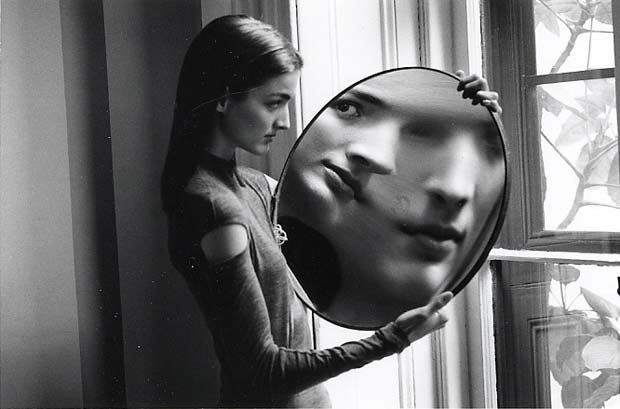 DUANE-MICHALS.-Dr-Heisenbergs-Magic-Mirror-of-Uncertainty-1998-2