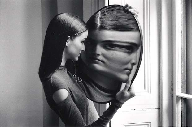 DUANE-MICHALS.-Dr-Heisenbergs-Magic-Mirror-of-Uncertainty-1998