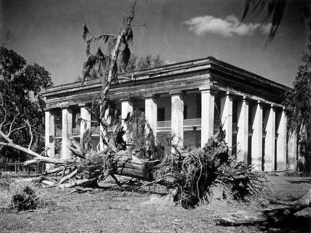 Louisiana Plantation House 1935