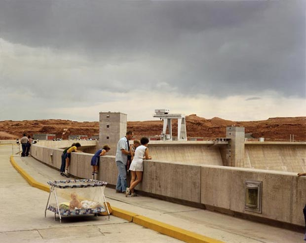 Glen-Canyon-Dam,-Page,-Arizona,-1983