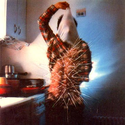 פורטרט עצמי, לוקאס סאמאראס, 1974