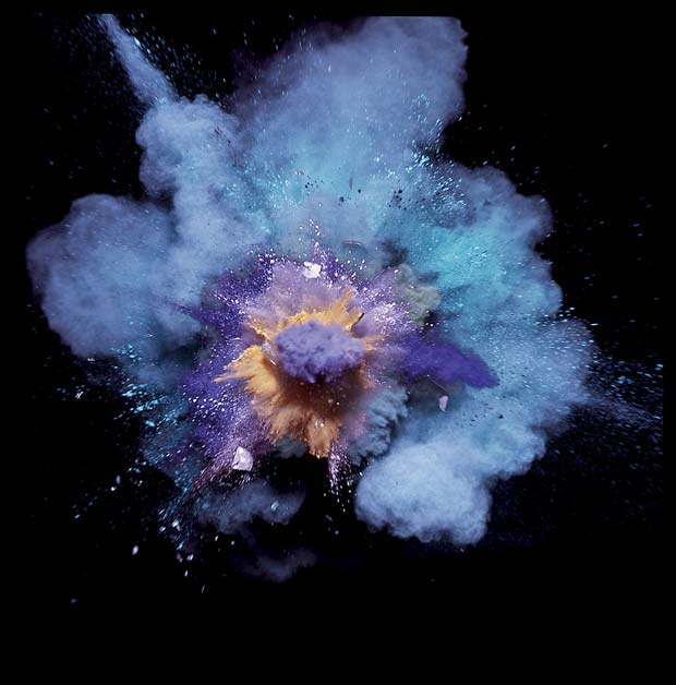 Paint-Explosions,-Purple-on-Blue,-Another-Man,-20