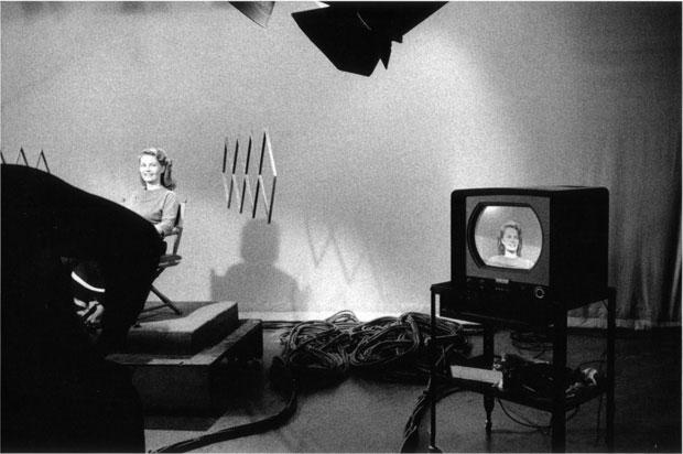 צילום: רוברט פרנק, the americans, אולפן טלוויזיה