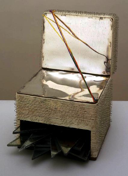 קופסה. 1963, עבודה של לוקאס סאמאראס