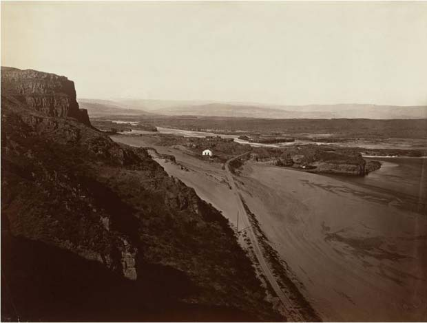 קרלטון ווטקינס, The-Dalles,-Oregon-1867
