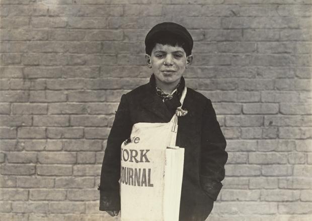 צילום של ילד, לואיס היין