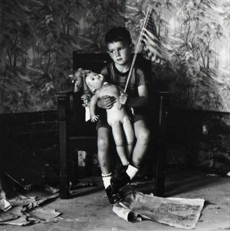 Untitled-(Boy-with-Flag)-[Christopher-and-the-Rebuilding-of-America],-1959