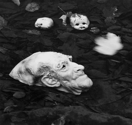 Untitled-(Mask-in-Water),-1961