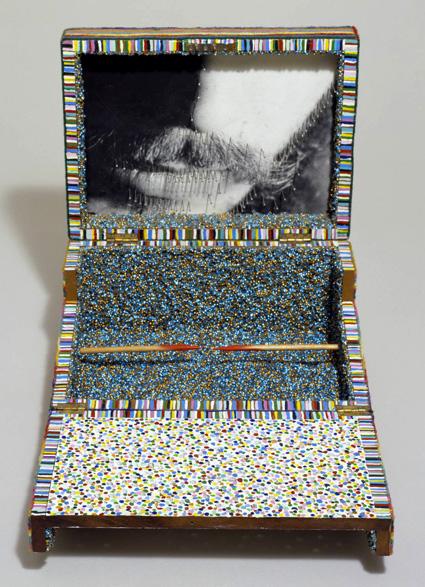 קופסה, עבודה של לוקאס סמאמאראס, 1967