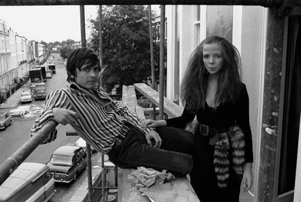הצלם דיוויד ביילי והדוגמנית פנלופה טרי