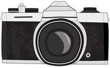 איור של מצלמה
